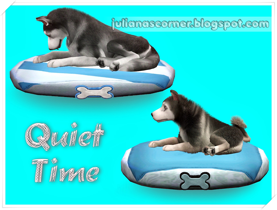 Quiet Time - Pets Bed by Juliana