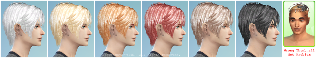 Jakec Hair 17 Charm S4 Conversion Edit by Twinklestar