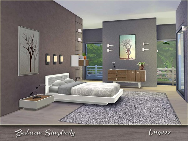 Bedroom Simplicity by ung999