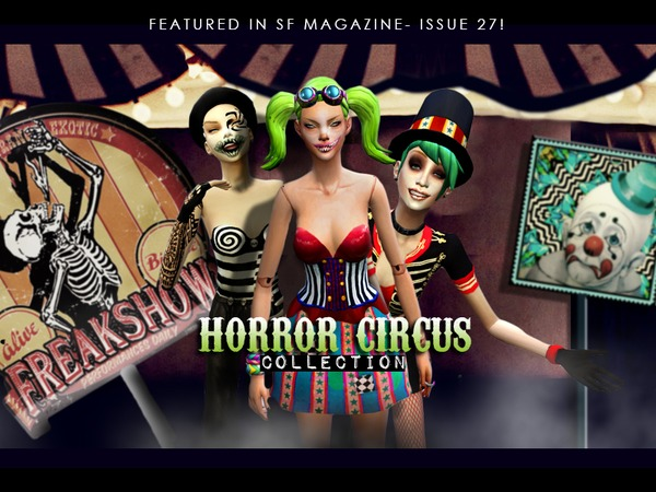 Horror Circus Collection by MissFortune