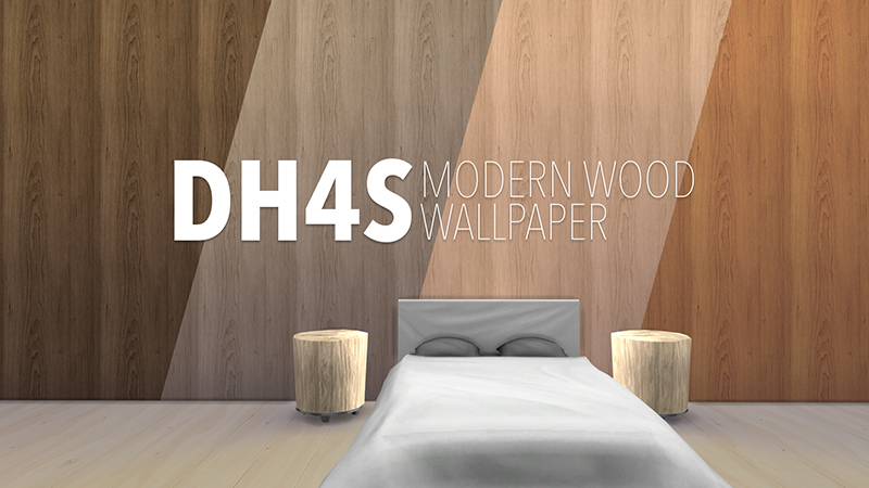 Modern Wood Wallpaper by Samuel