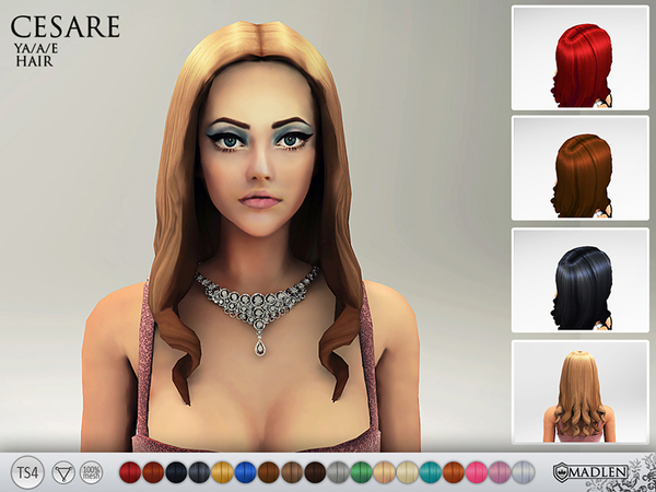 Madlen Cesare Hair by MJ95