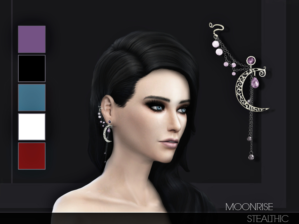 Moonrise Ear Cuff at Stealthic