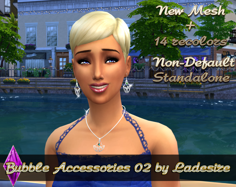 Bubble Set Accessories 02 by Ladesire