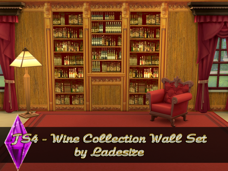 Wine Collection Walls Set by Ladesire