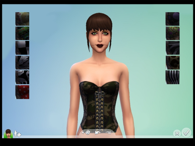 Corset Top by drea1219