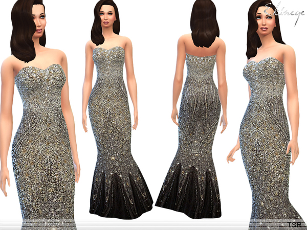 Sequined Gown by ekinege