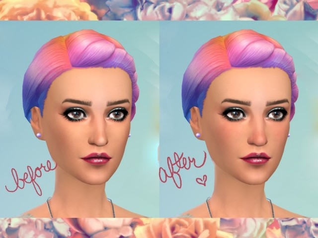 Rosy Cheeks and Nose Overlay by pepstar