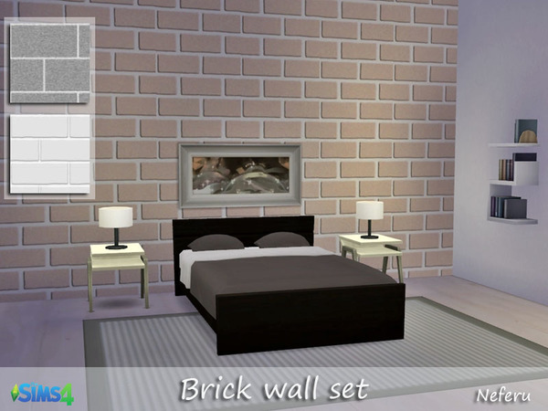Brick Wall set by Neferu