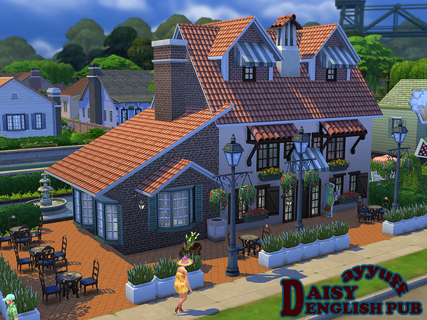 Daisy English Pub by ayyuff