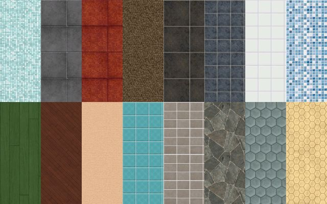TS2 to TS4 Walls and Floors by DaniSims