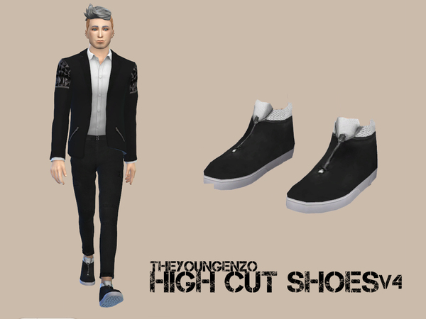 High Cut Shoes V4 by theyoungenzo