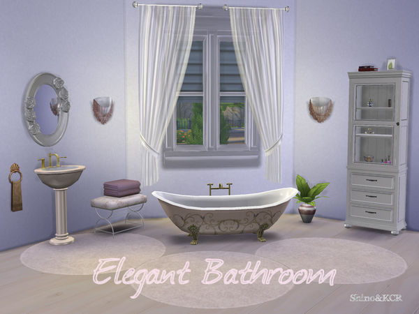 Elegant Bathroom by ShinoKCR