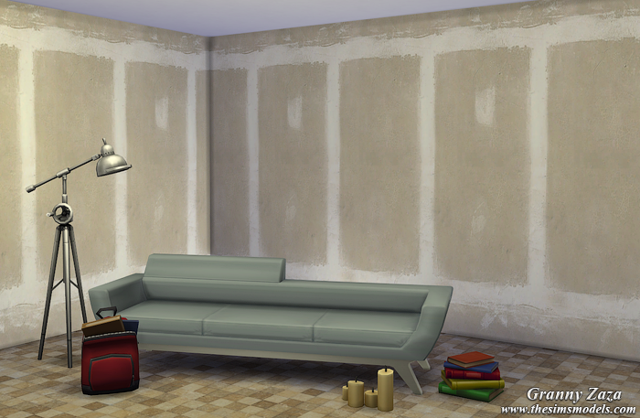 Walls for The Sims 4 от Granny Zaza