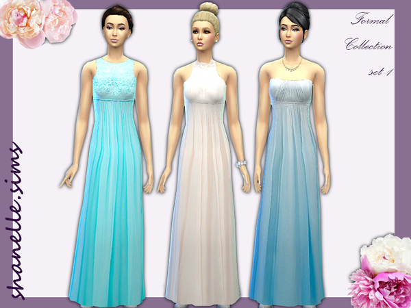 Formal Maxi dress collection by shanelle.sims