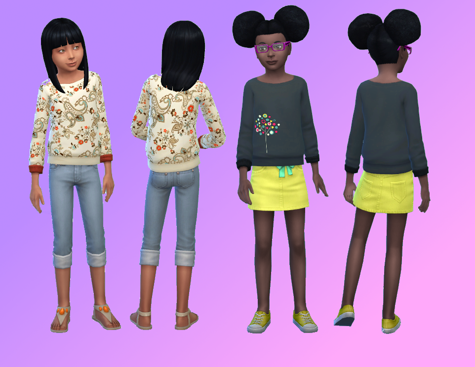 5 Cute Sweaters for Girls by Darkestirony