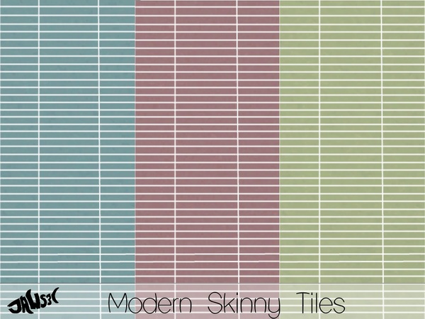 Modern Skinny Tile by Jaws3