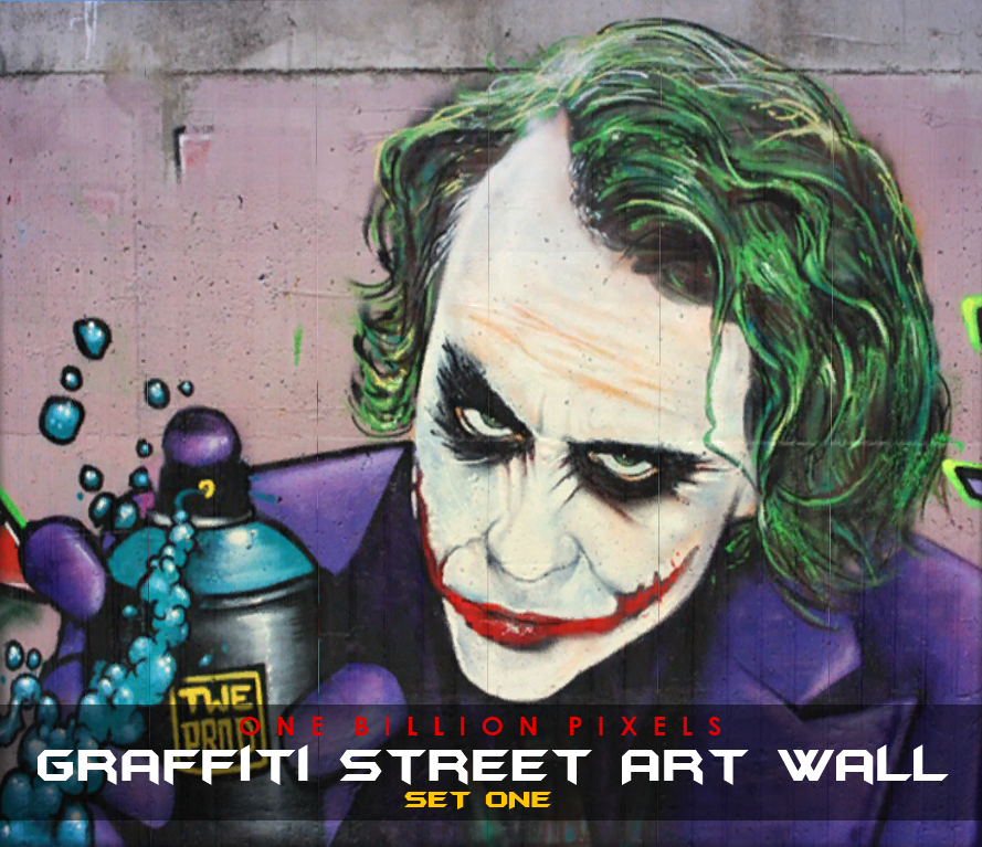 Graffiti Street Wall Art by NewOne