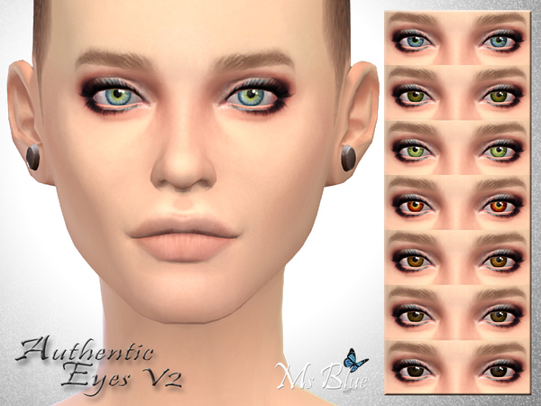 Authentic Eyes V2 by Ms Blue