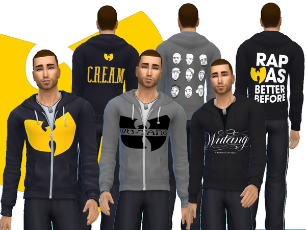 Wu Tang Hoodie Set for Men by french0vanilla