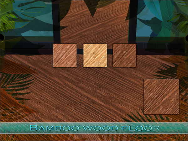 Bamboo Wood Floor by Playful