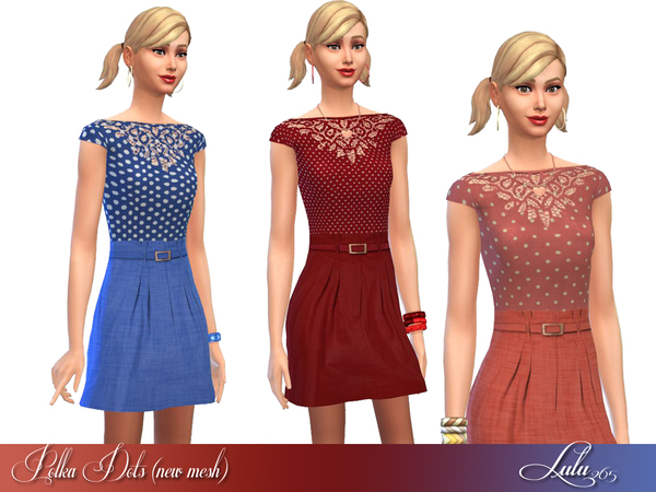 Polka Dots (New Mesh) by Lulu265