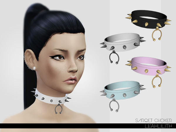 LeahLillith Sarqet Choker by Leah Lillith