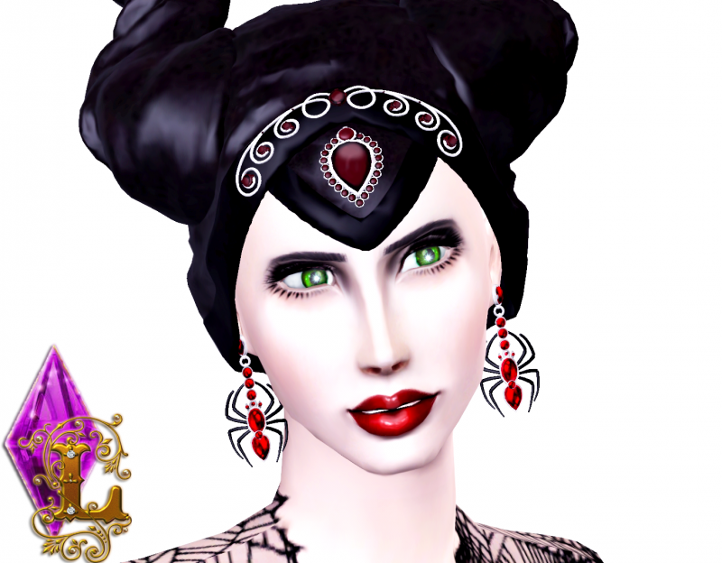 Malifecent Accessories Set by Ladesire