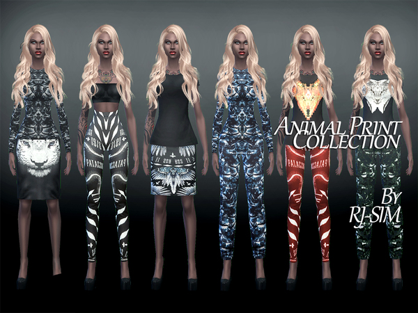 Animal Print Collection by RJ-SIM