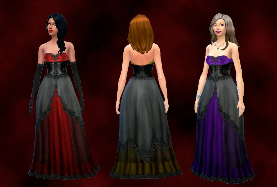 Vampire Gown Conversion by Kiara24