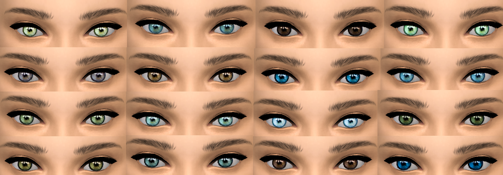 Set of Eyes by belles-simblr