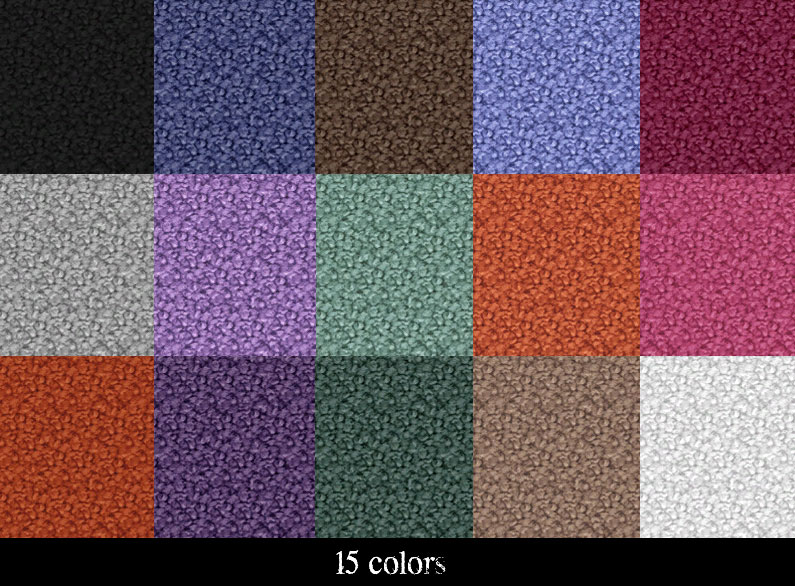 Nubby Textured Carpet Set - 15 Colors by mustluvcatz