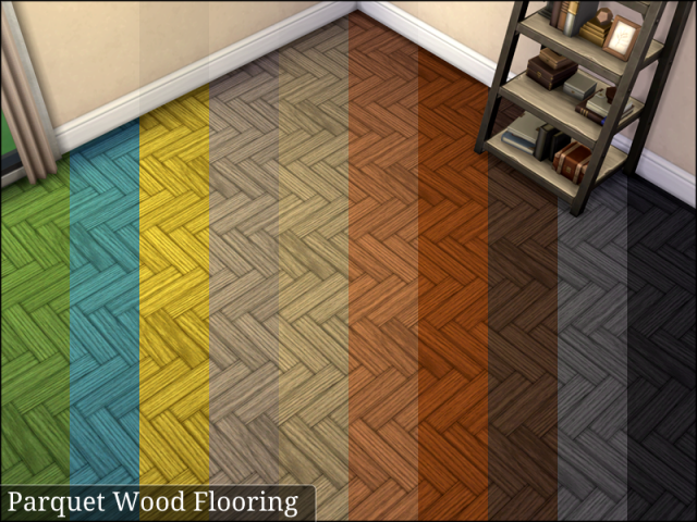 Parquet Wood Flooring by Sailfindragon