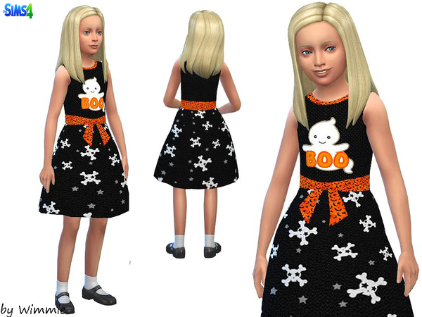 Girls Halloween Dress by Wimmie