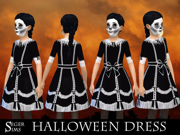 Girls Halloween Dress by SegerSims