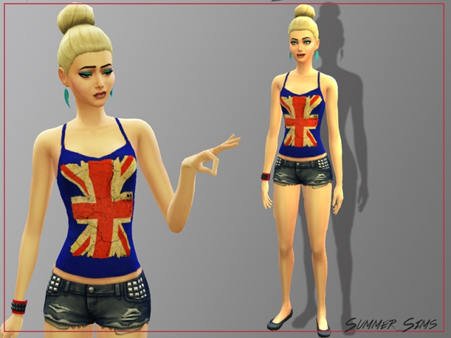 Singlet Uk by Summer_Sims