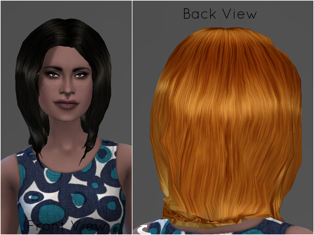 Hair mesh edit by Players Wonderland