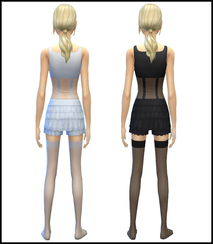 Sheer Nightie Tops for Teen - Elder Females by Simista