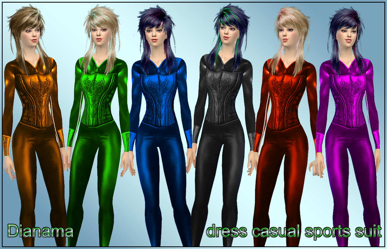 Sports Suit for Females by Dianama