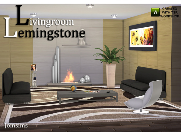 Living Room Lemingstone by jomsims