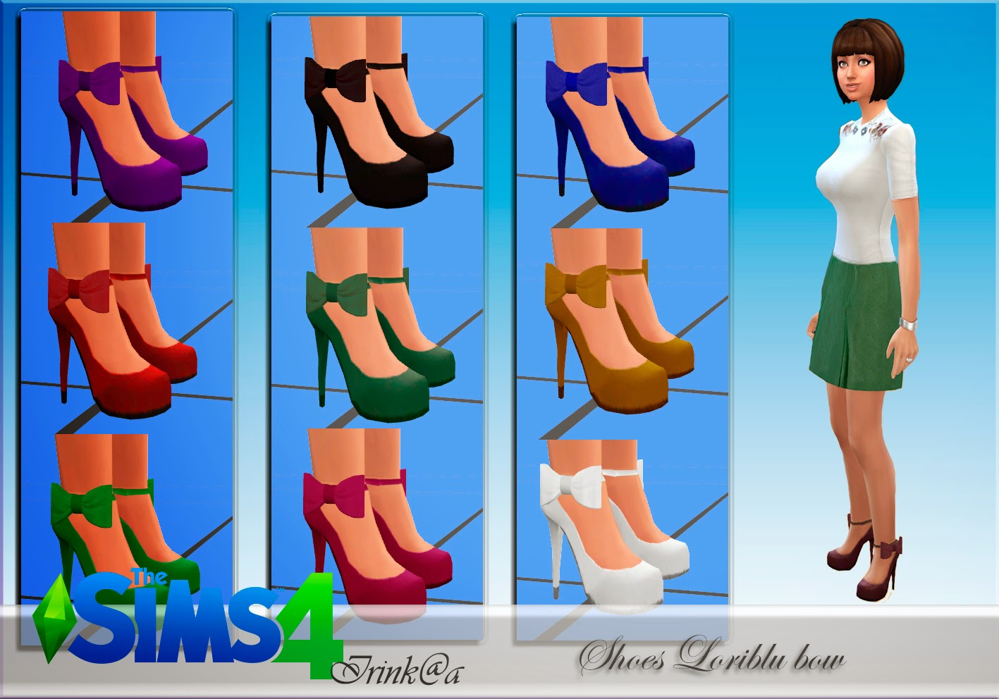 Shoes Loriblu bow by Irink@a