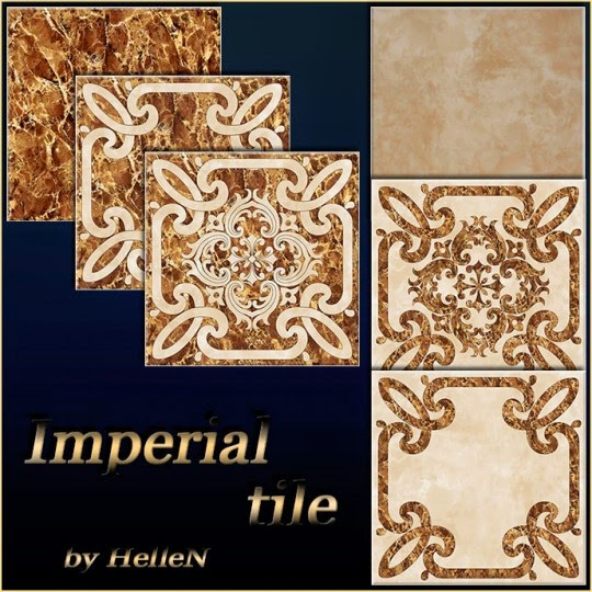 Imperial Tile by Hellen