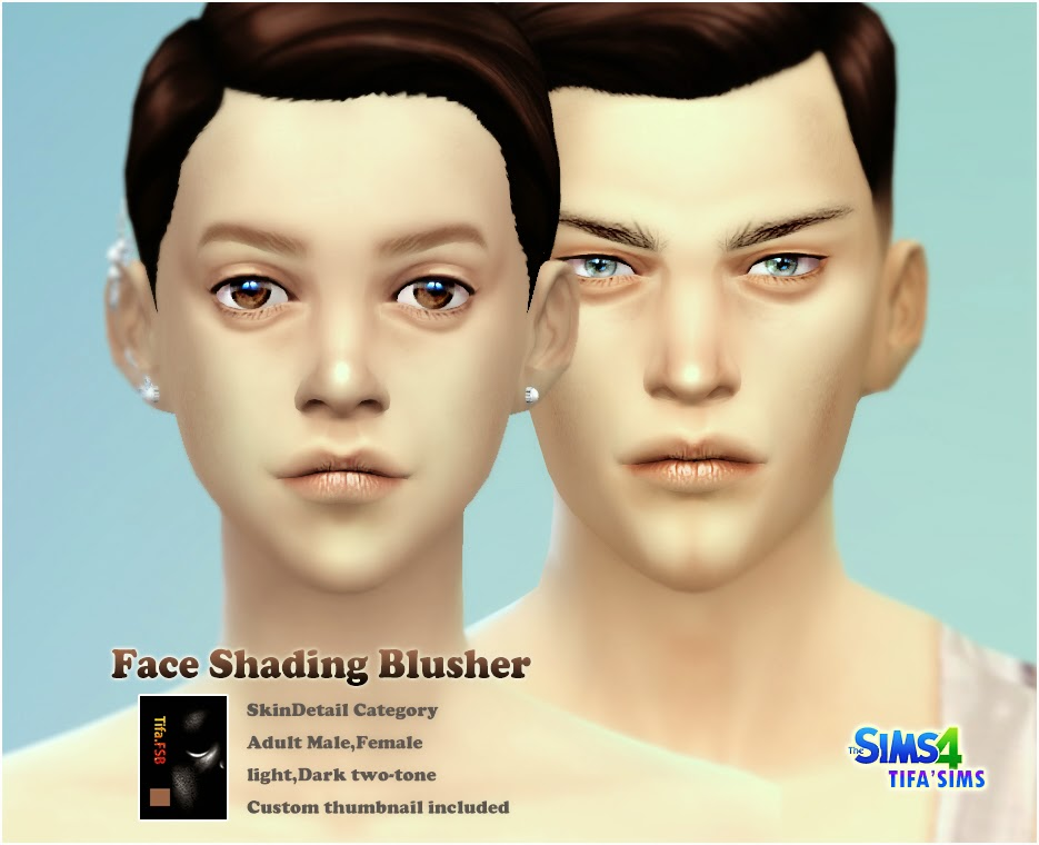 Face Shading Blusher by Tifa