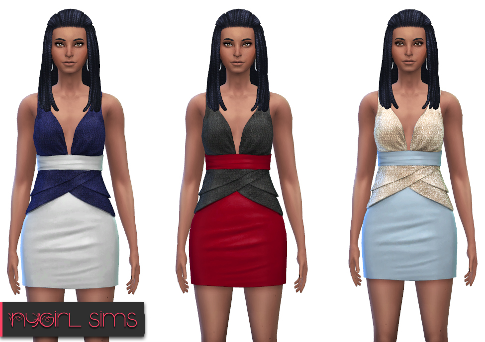 Dress Recolors by NyGirl