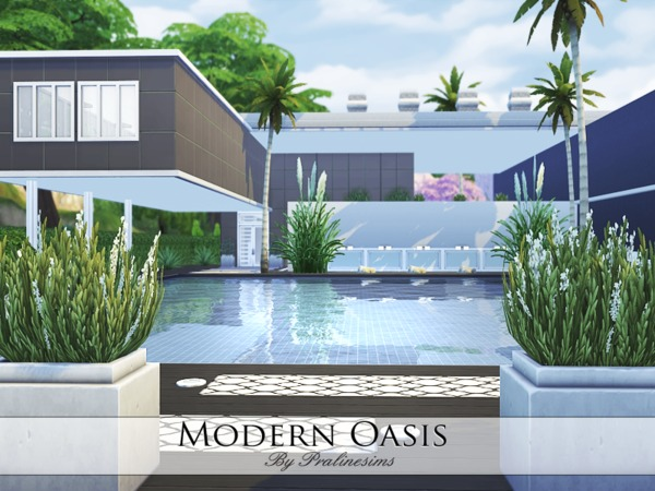 Modern Oasis by Pralinesims