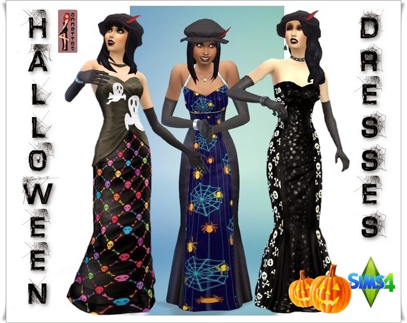 Halloween Dresses by Annett85