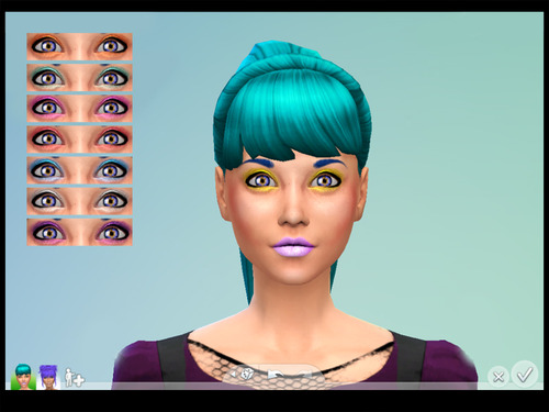 Bright Glitter Eyeshadow at Brownieswife sims