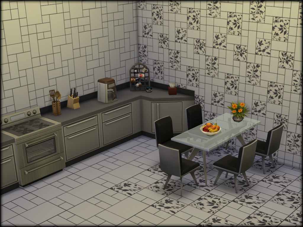 Wallpaper and Floors by Anya