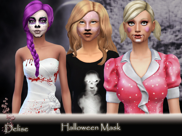 Halloween Masks by Delise