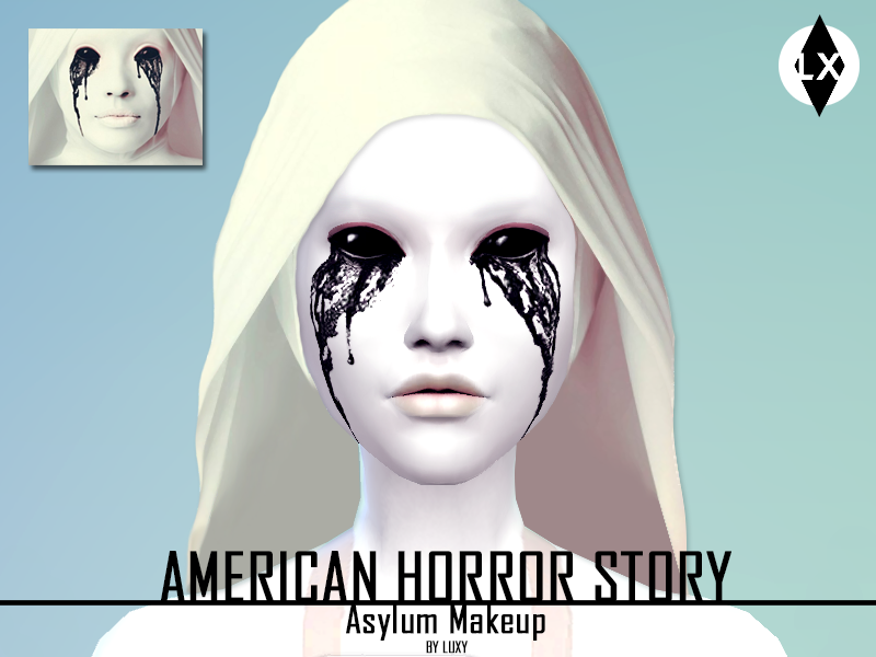 American Horror Story Asylum Makeup by Luxy